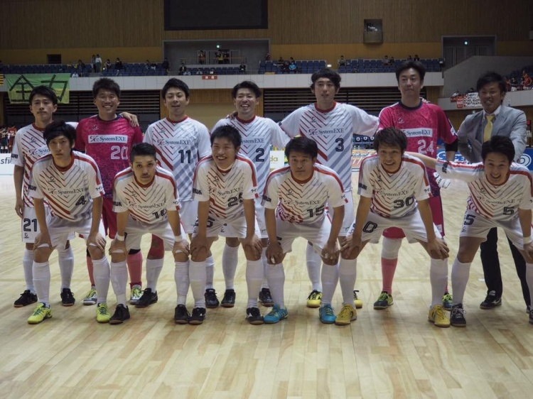 スポーツウェア 明日から関東1部フットサルリーグ