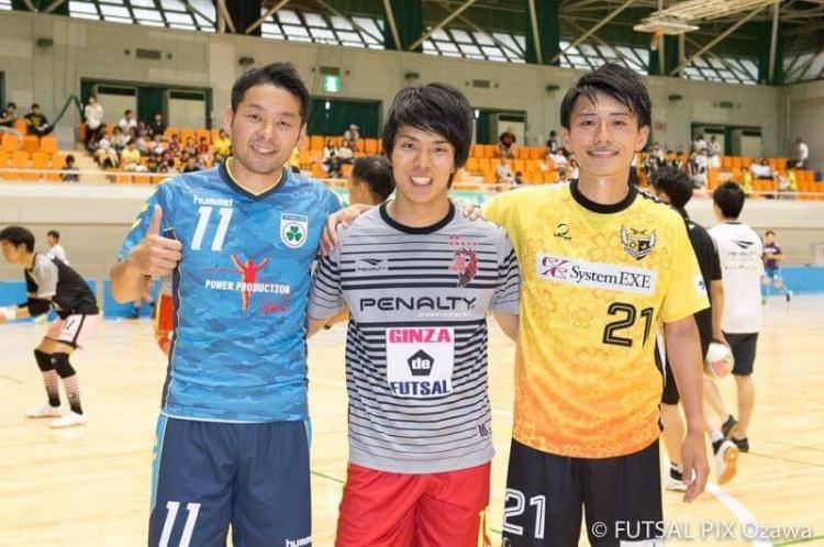 スポーツウェア 関東フットサルリーグ開幕