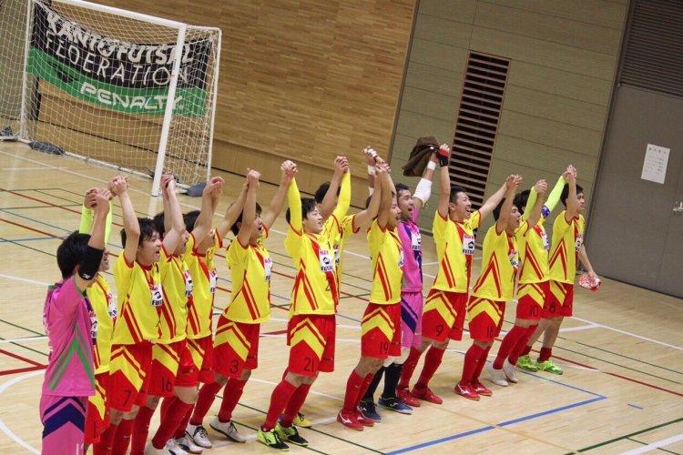 スポーツウェア Firefox、関東フットサルリーグ シーズン終了