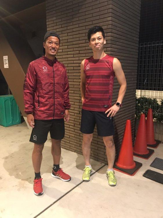 スポーツウェア 走れるスポーツ指導者