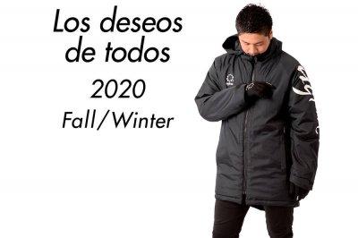 """2020秋冬商品を掲載 シーズンテーマは""""Los deseos de todos"""""""