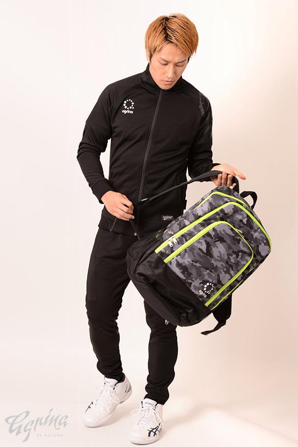 デアセルトレーニングジャージジャケット Black