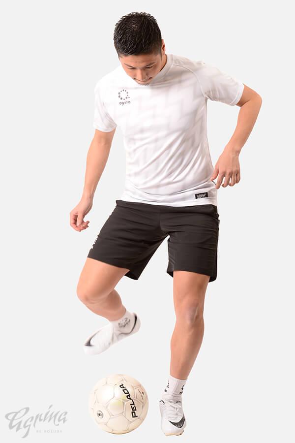 ラヤグラプラクティスシャツ White