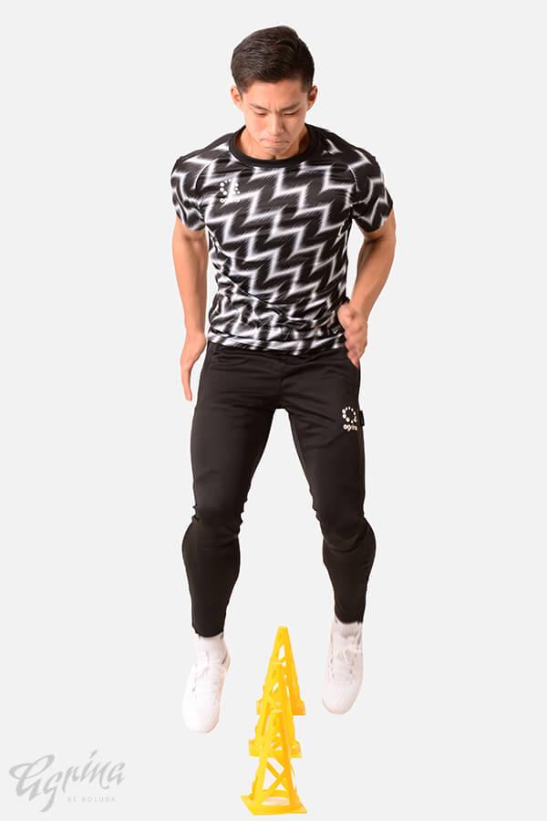 ラヤグラプラクティスシャツ Black