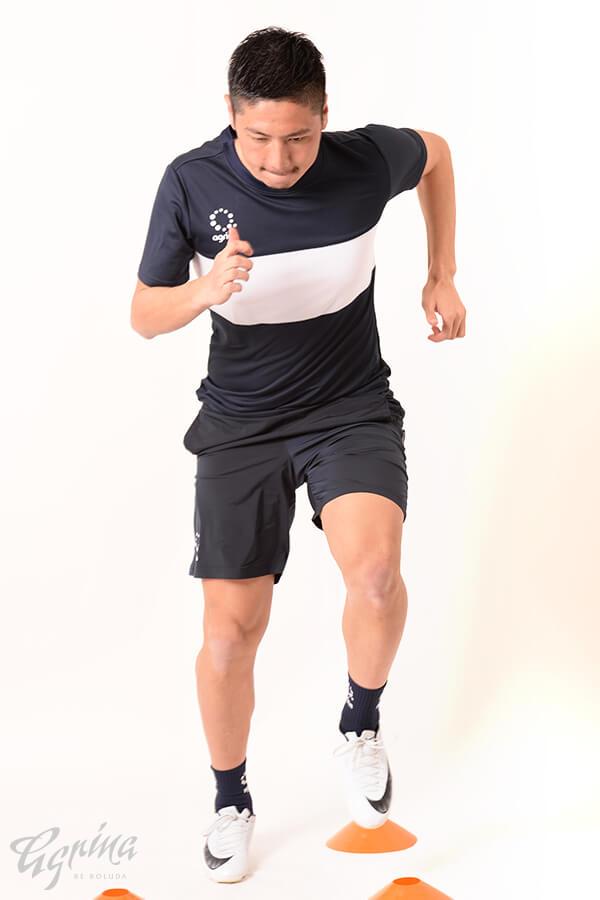 コンベルティトレーニングシャツ Navy