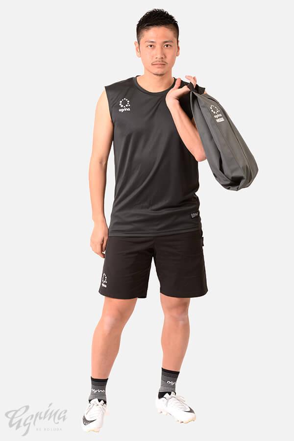 デポルタンクトップシャツ Black