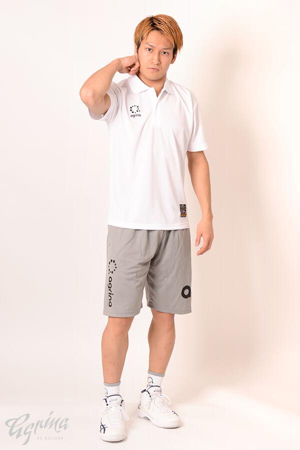 グランデ半袖ポロシャツ White