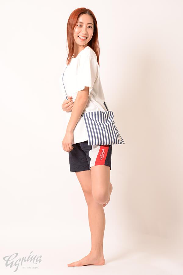 CRACKルエゴコットンポケットTシャツ White