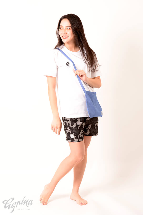 CRACKベリエコットンTシャツ White