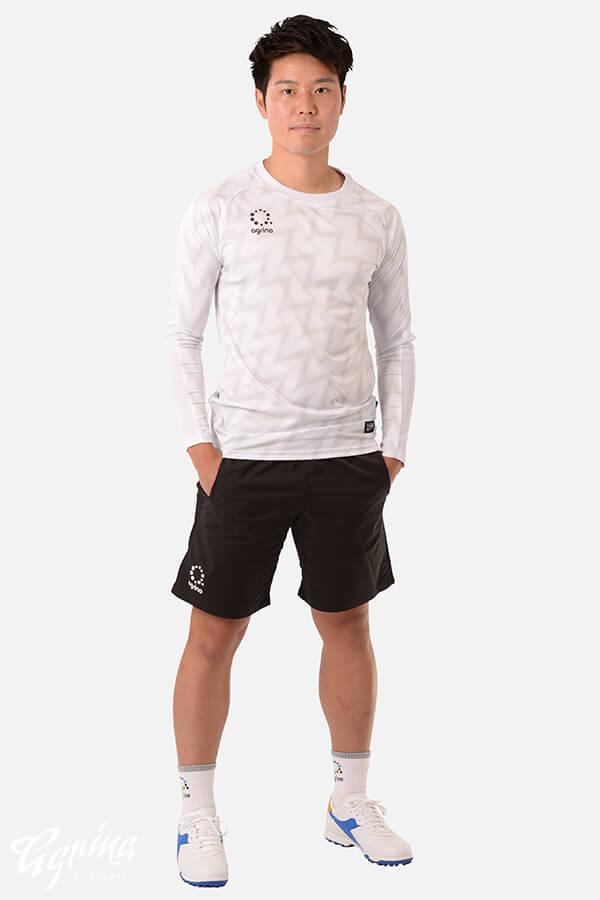 ラヤグラロングスリーブプラクティスシャツ White