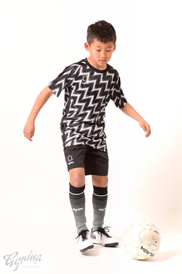 ジュニアラヤグラプラクティスシャツ Black