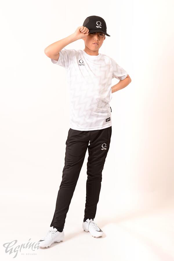 ジュニアラヤグラプラクティスシャツ White