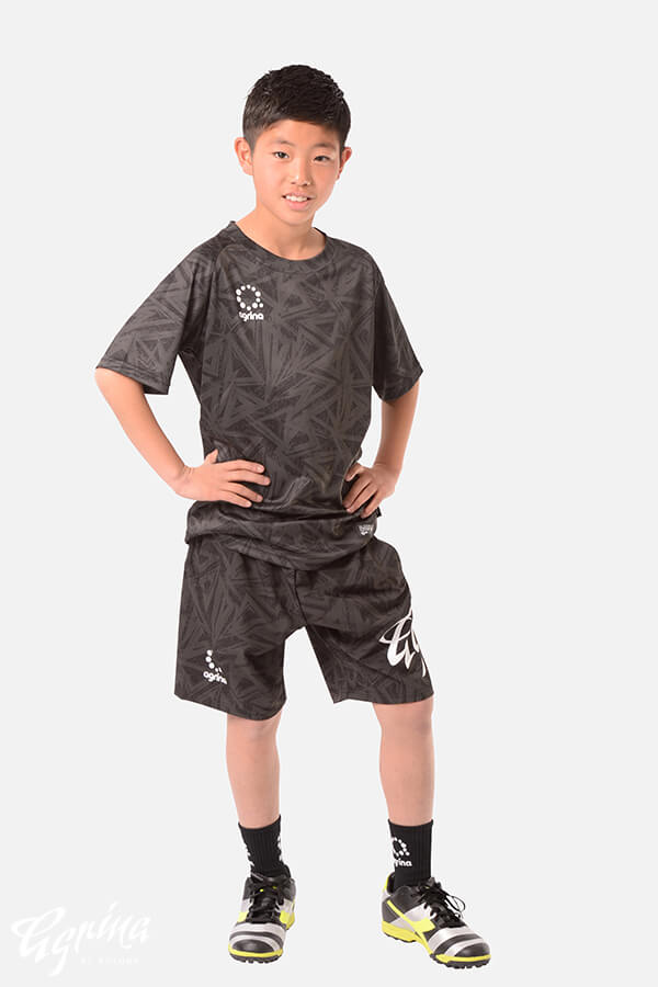 ジュニアエスクアプラクティスシャツ Black