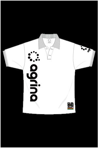 ベルティカポロシャツ White