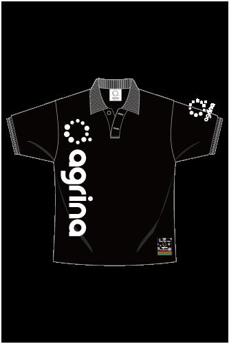 ベルティカポロシャツ Black