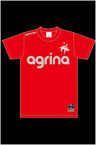 アグリナミーゴプラクティスシャツ Red