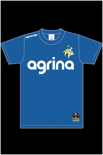 アグリナミーゴプラクティスシャツ R.Blue