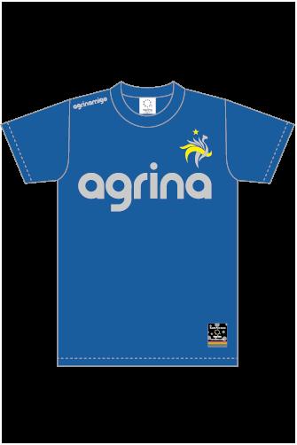 アグリナミーゴコットンTシャツ R.Blue
