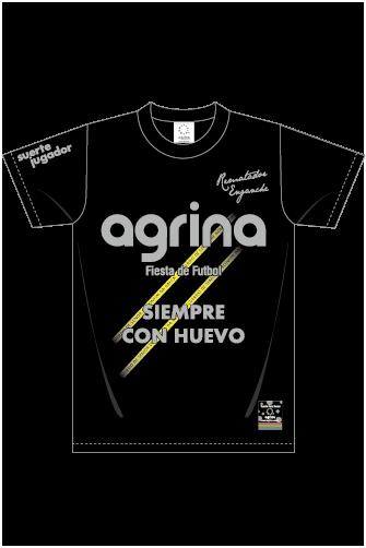ブラジルボンフィンコットンTシャツ Black