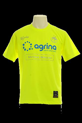 ドスアグリナミーゴプラクティスシャツ F.Yellow