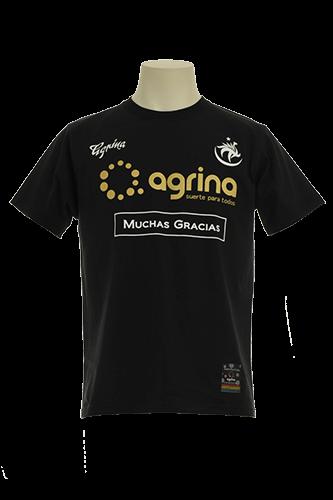 ドスアグリナミーゴコットンTシャツ Black