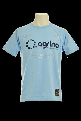 ドスアグリナミーゴコットンTシャツ L.Blue
