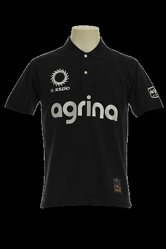 エンコットンポロシャツ Black
