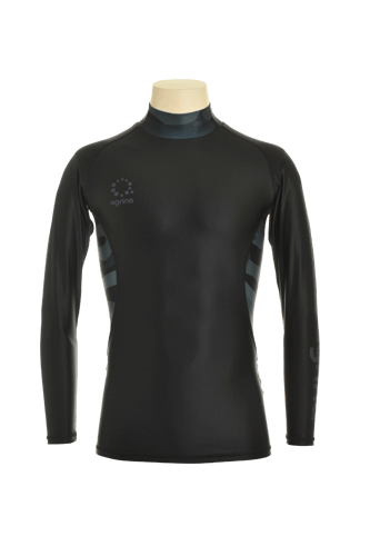 カモデルインナーシャツ Black