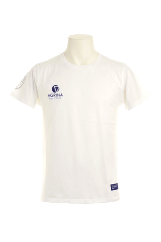 CRACKプリメロコットンTシャツ White