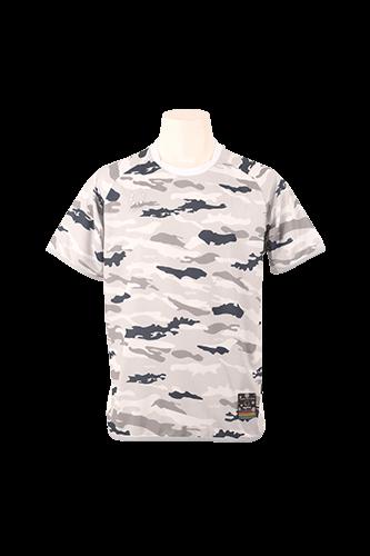 カモエンカントプラクティスシャツ White