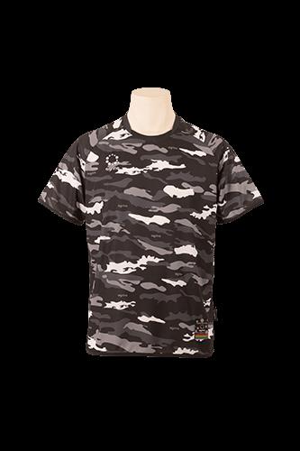 カモエンカントプラクティスシャツ Black