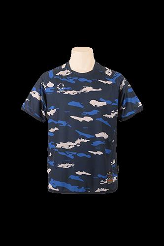 カモエンカントプラクティスシャツ Navy