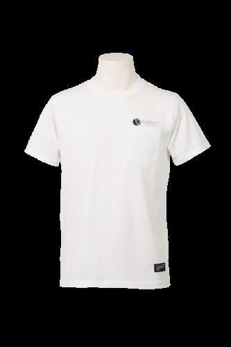CRACKボルダチコポケットTシャツ White