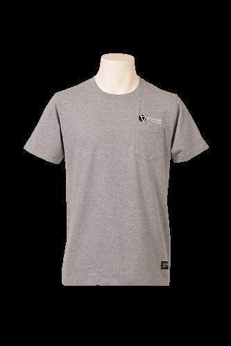 CRACKボルダチコポケットTシャツ M.Gray