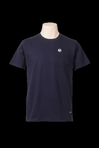 CRACKボルダチコポケットTシャツ Navy