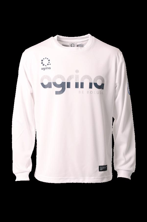 バリネアグラデロングプラシャツ White