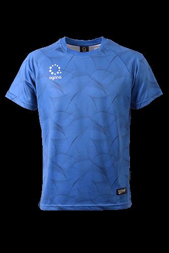 シルクイナフィットプラシャツ Blue