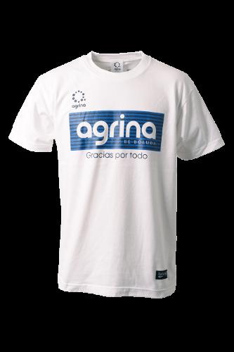 アルティボーダーコットンTシャツ White