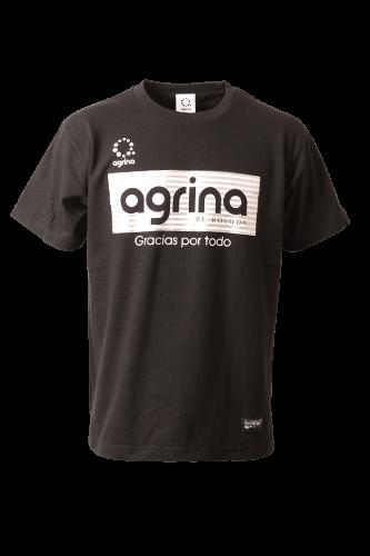アルティボーダーコットンTシャツ Black