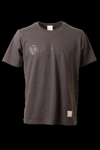 CRACKレグラコットンTシャツ D.Gray
