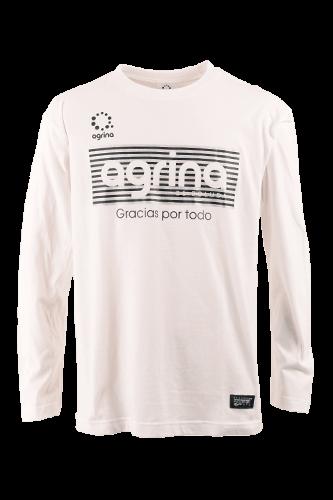 アルティボーダロングコットンTシャツ White