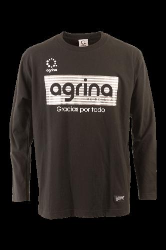 アルティボーダロングコットンTシャツ Black