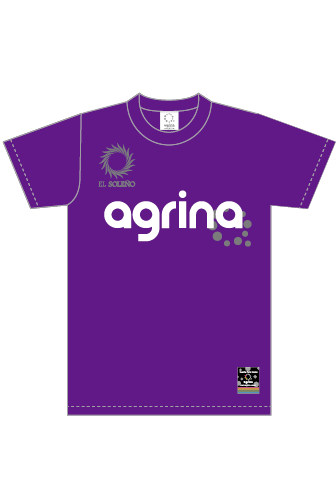ジュニアエルロプラクティスシャツ Purple