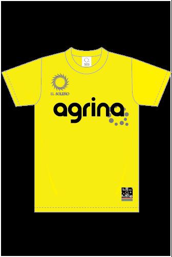 ジュニアエルロプラクティスシャツ Yellow
