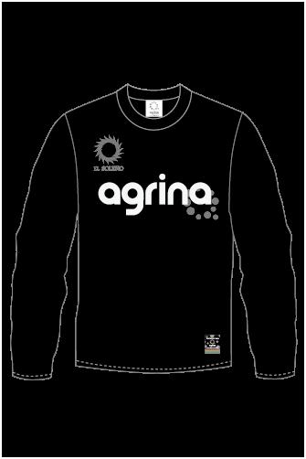 ジュニアエルロロングプラクティスシャツ Black