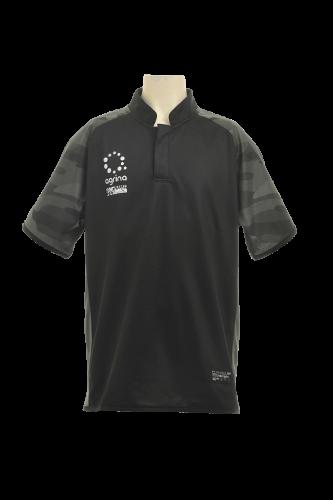 ジュニアカモガスプラクティスシャツ Black