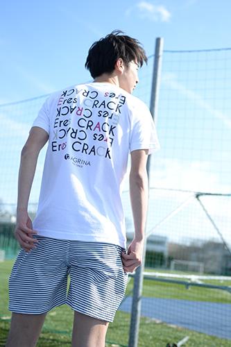アグリナ CRACKレグラコットンTシャツ
