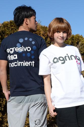 アグリナ コンセプトコットンTシャツ