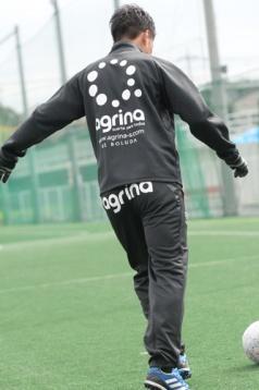 アグリナ / agrina クラックジャージパンツ