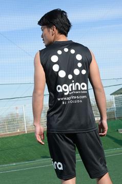 アグリナ / agrina エヌスダドライノースリーブシャツ